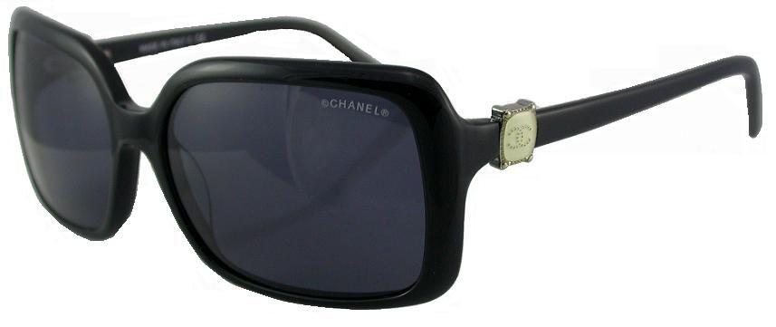 chanel 5175 damen sonnenbrille brille schwarz etui sunwear. Black Bedroom Furniture Sets. Home Design Ideas